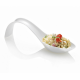 White Tasting Spoon