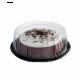 PET Plastic Round Cake Container - Example (Medium)