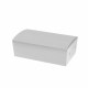 Paperboard White Snack Boxes - Small